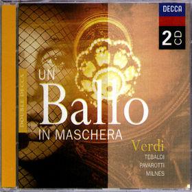Luciano Pavarotti, Un Ballo in Maschera, 00028946076224