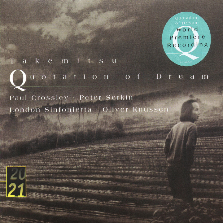 Takemitsu: Quotation of Dream 0028945349521