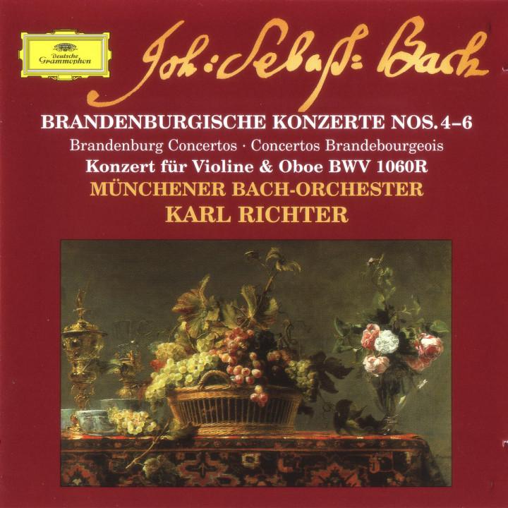 Brandenburgische Konzerte Nr. 4 - 6 0028946301225