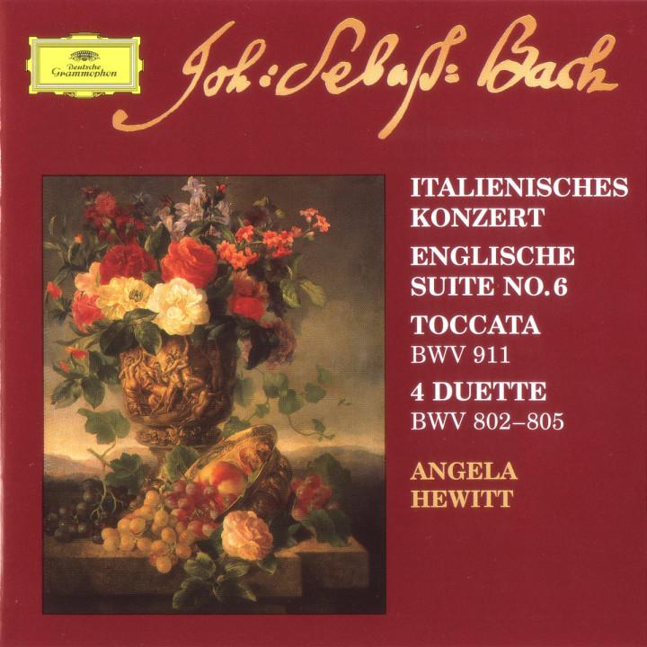 Italienisches Konzert ; Toccata BWV 911;  Englische Suite Nr. 6 0028946302123