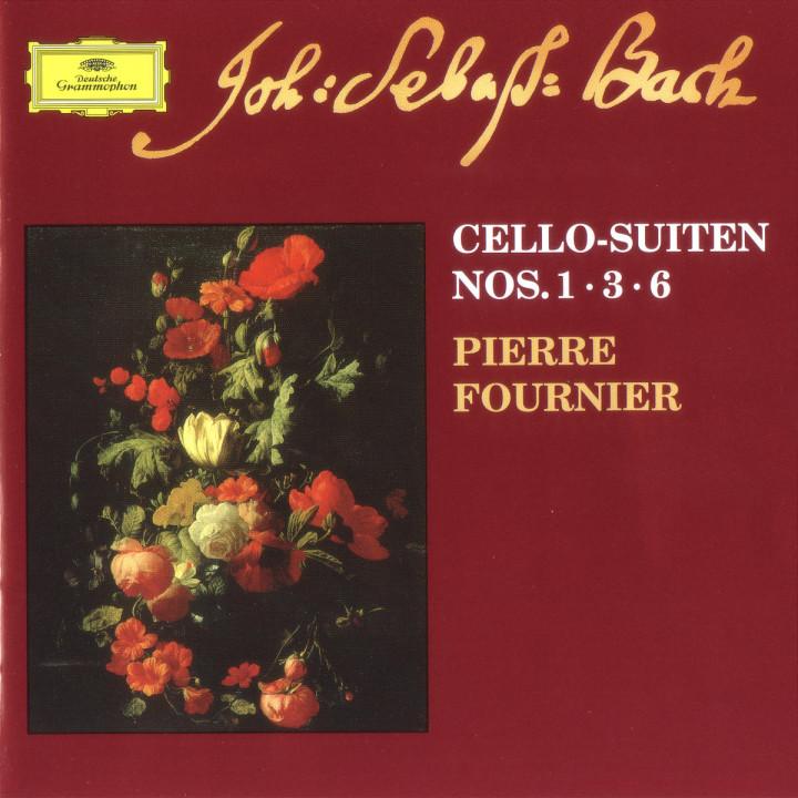 Suiten für Violoncello Nr. 1; 3;  6 0028946302422