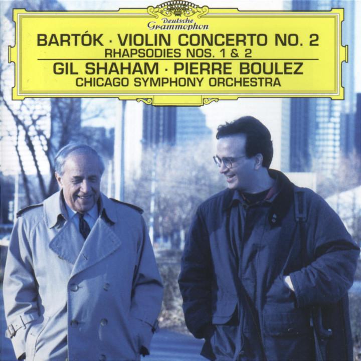 Violinkonzert Nr. 2 h-moll; Rhapsodien Nr. 1 & Nr. 2 0028945963929
