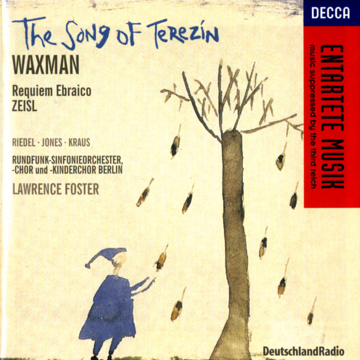 Waxman/Zeisl: The Song of Terezin/Requiem Ebraico 0028946021125