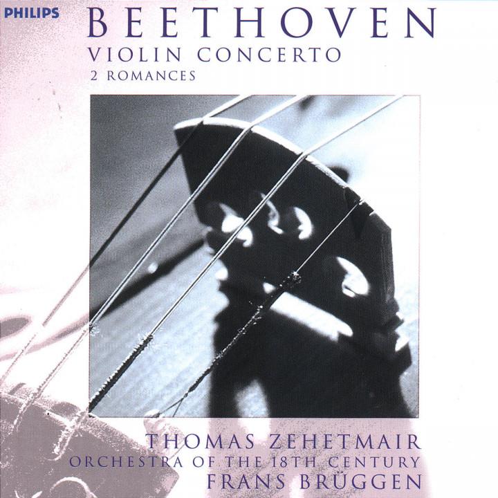 Beethoven: Violin Concerto; 2 Romances 0028946212321