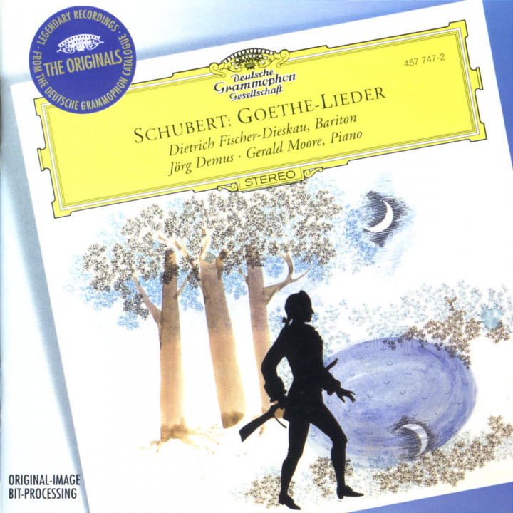 Schubert: Goethe Lieder 0028945774725