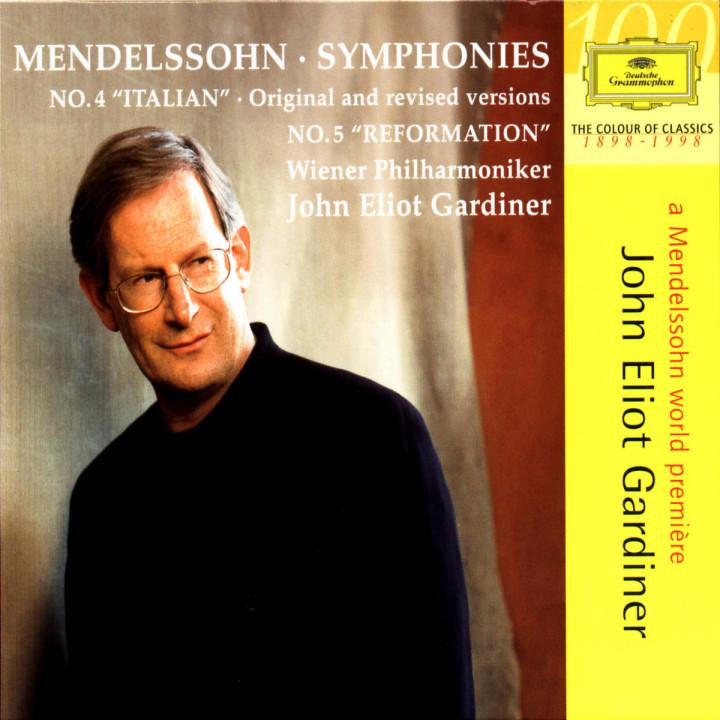 "Mendelssohn: Symphonies Nos.4 ""Italian"" original and revised versions & 5 ""Reformation"" 0028945915627"