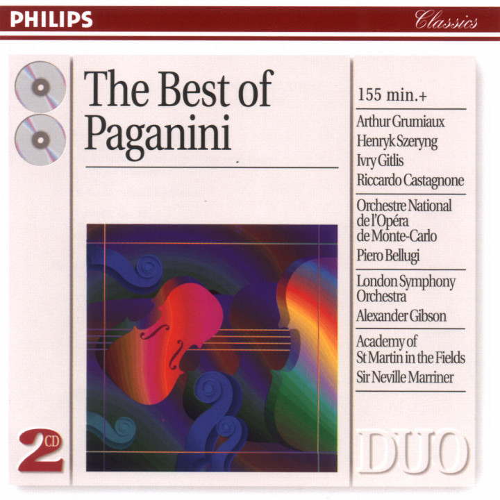 The Best Of Paganini 0028946286522