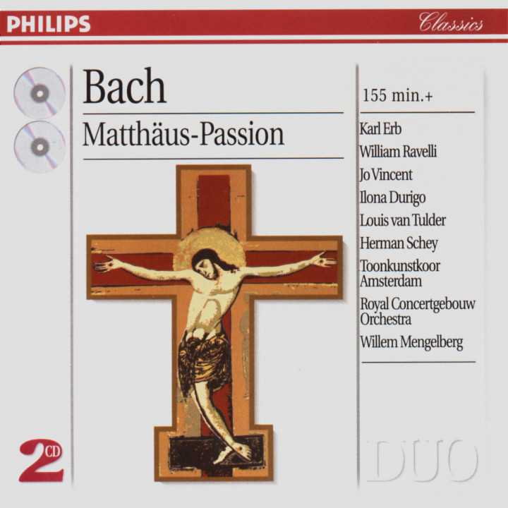 Bach, J.S.: St. Matthew Passion 0028946287121