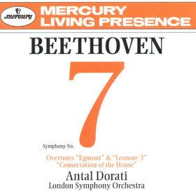 Ludwig van Beethoven, Sinfonie Nr. 7  -  Ouvertüren, 00028946295823