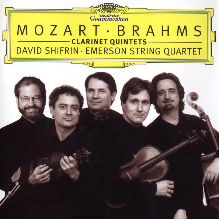 Mozart / Brahms: Clarinet Quintets 0028945964126