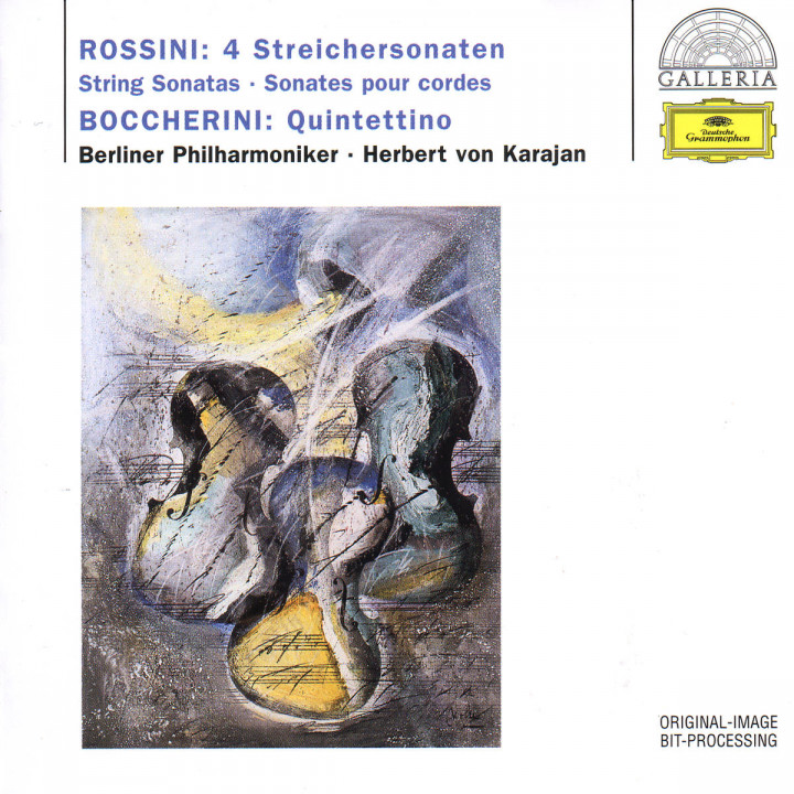 4 Streicher Sonate - Quintettino 0028945791429