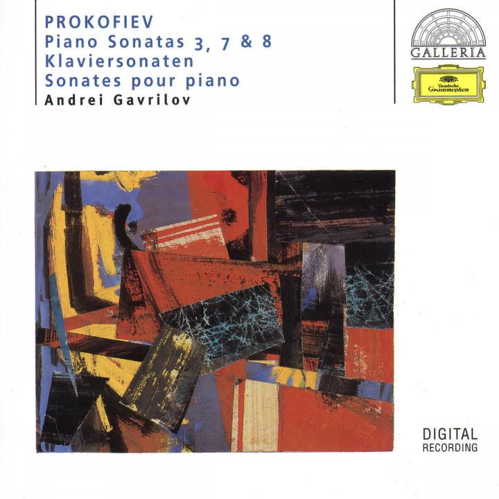 Klaviersonaten 3, 7 & 8 - Andrei Gavrilov 0028945931227