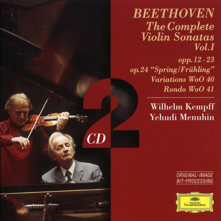 Beethoven: The Complete Violin Sonatas Vol.I 0028945943325