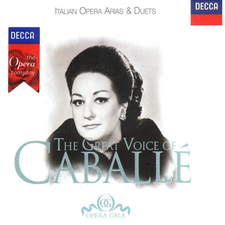 The Great Voice Of Caballé - Italienische Opernarien & Duette 0028945823122