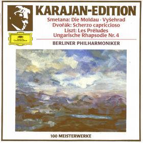 Bedrich Smetana, Die Moldau - Vysehrad - Les Préludes, 00028942322028