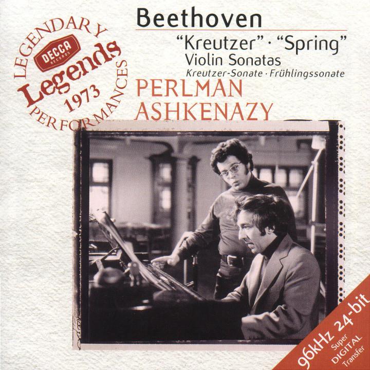 """Beethoven: Violin Sonatas Nos.9 """"Kreutzer"""" & 5 """"Spring"""" 0028945861823"""