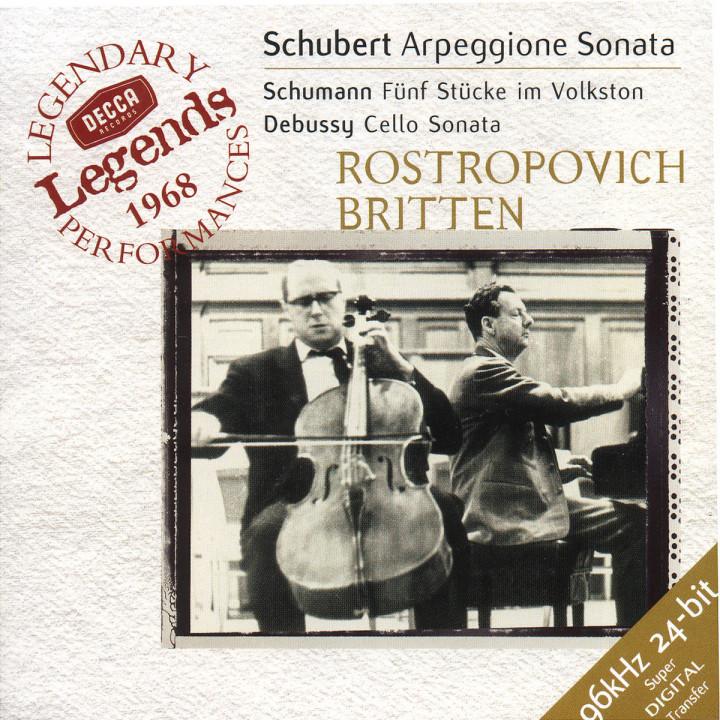 Schubert: Arpeggione Sonata / Schumann: 5 Stücke in Volkston / Debussy: Cello Sonata 0028946097421