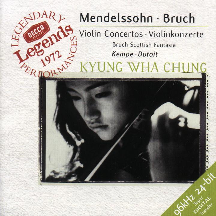 Mendelssohn: Violin Concerto / Bruch: Violin Concerto / Scottish Fantasy 0028946097627
