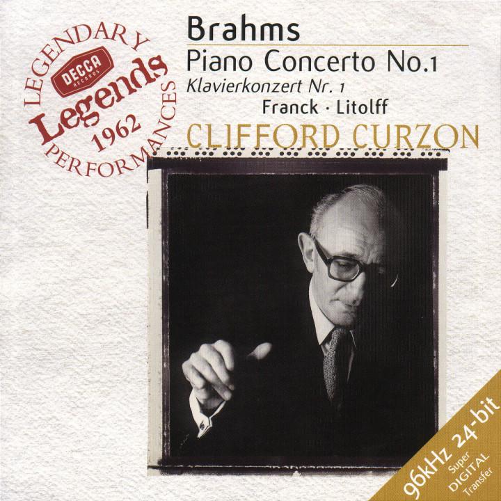Brahms: Piano Concerto No.1 / Franck: Variations Symphoniques /  Litolff: Scherzo 0028946637625