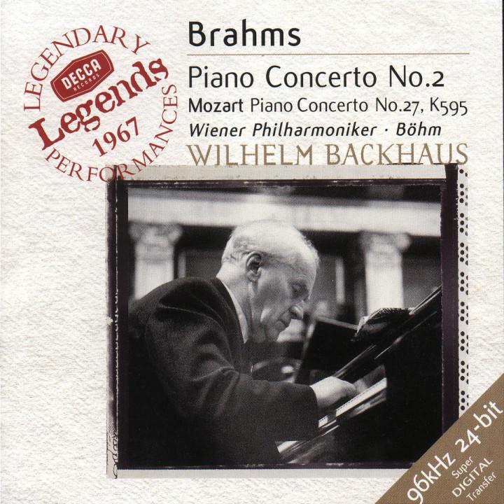 Brahms: Piano Concerto No.2 / Mozart: Piano Concerto No.27 0028946638028