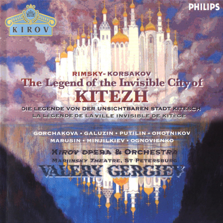 Rimsky-Korsakov: The Invisible City of Kitezh 0028946222520