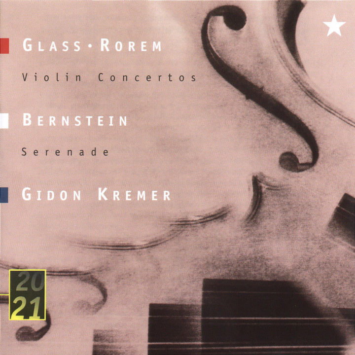 Glass / Rorem: Violin Concertos 0028944518520