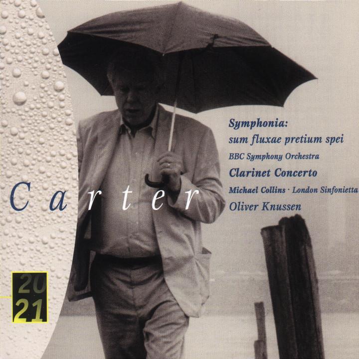 Carter: Clarinet Concerto; Symphonia 0028945966025