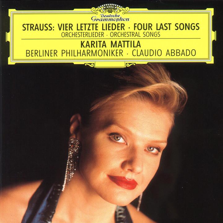 R. Strauss: Vier letzte Lieder /  Orchesterlieder 0028944518221