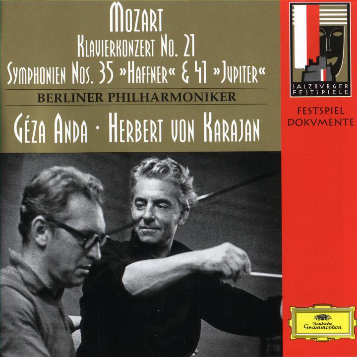 Sinfonien Nr. 35 D-dur und 41 C-dur; Klavierkonzert Nr. 21 C-dur 0028945319924