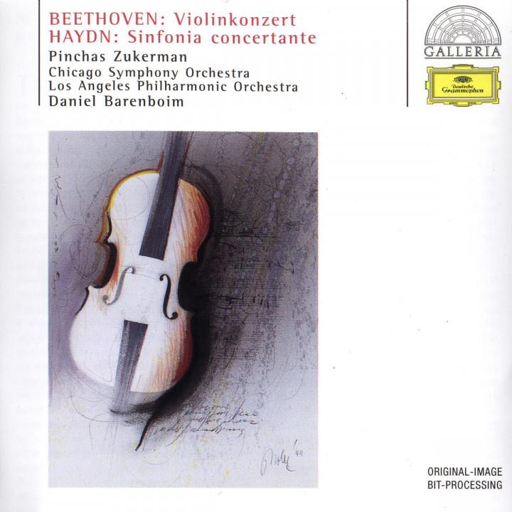 Violinkonzert D-dur; Sinfonia concertante B-dur Hob I:105 0028946307829