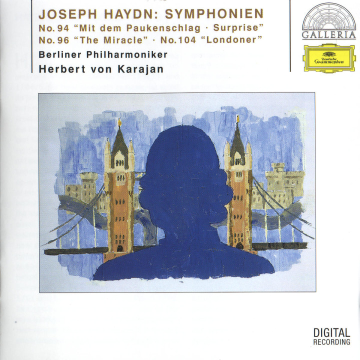 "Sinfonien Nr. 94 ""Mit dem Paukenschlag""; Nr. 96 ""Das Wunder"" & Nr. 104 ""Londoner"" 0028946308325"