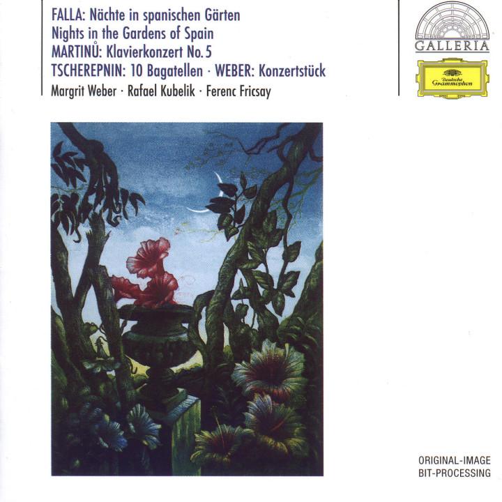 Nächte in spanischen Gärten; Klavierkonzert Nr. 5 B-dur 0028946308521