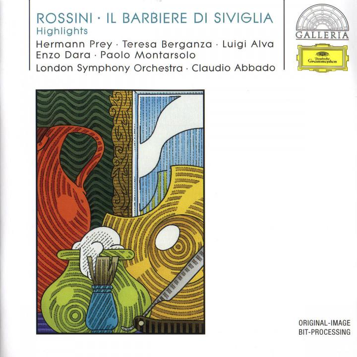 Rossini: Il Barbiere di Siviglia (Highlights) 0028946308624