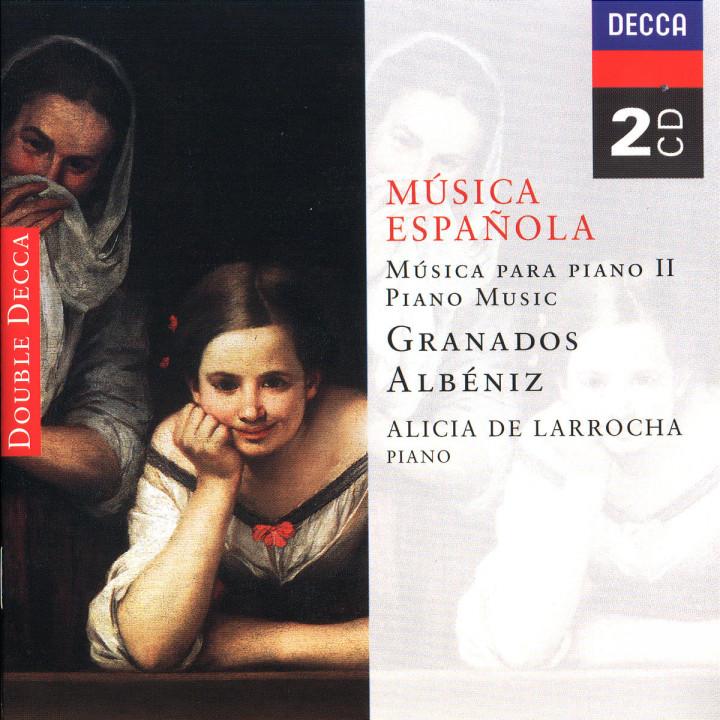 Spanish Music for Piano II - Albéniz/Granados 0028943392327