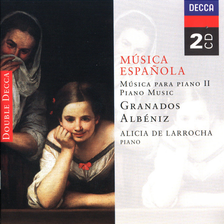 Spanish Music for Piano II - Albéniz/Granados 0028943392327