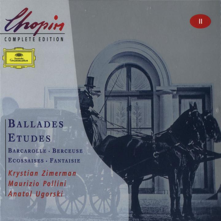Chopin: Ballades; Etudes; Barcarolle; Berceuse 0028946305126