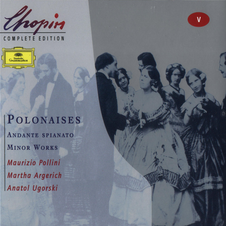 Chopin: Polonaises; Andante spianato;Minor Works 0028946306024