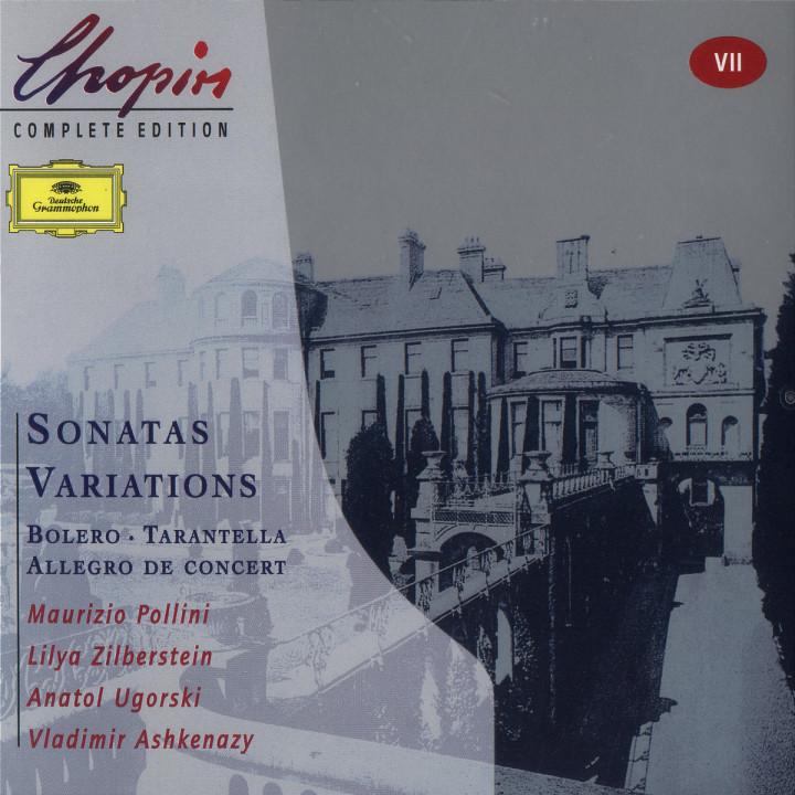 Chopin: Sonatas; Variations; Bolero; Tarantella; Allegro de concert 0028946306622