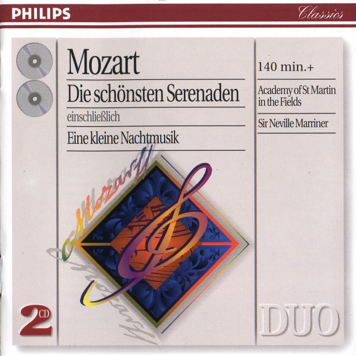 Mozart: The Great Serenades including Eine kleine Nachtmusik 0028946402227