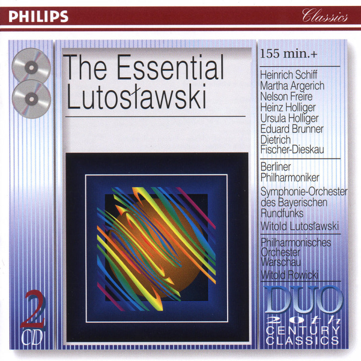 The Essential Lutoslawski 0028946404322