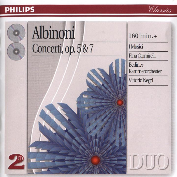Concerti op. 5 & 7 0028946405220