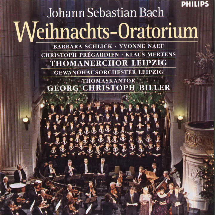 Weihnachts-Oratorium BWV 248 0028946413025