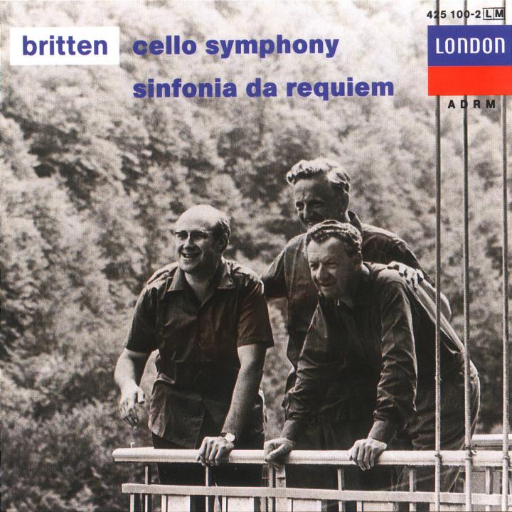 Britten: Cello Symphony; Sinfonia da Requiem; Cantata Misericordium 0028942510021