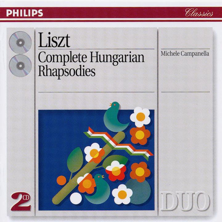 Liszt: Complete Hungarian Rhapsodies 0028943837123