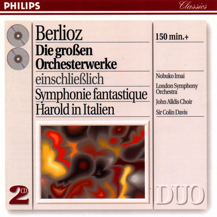 Berlioz: Great Orchestral Works 0028944229026