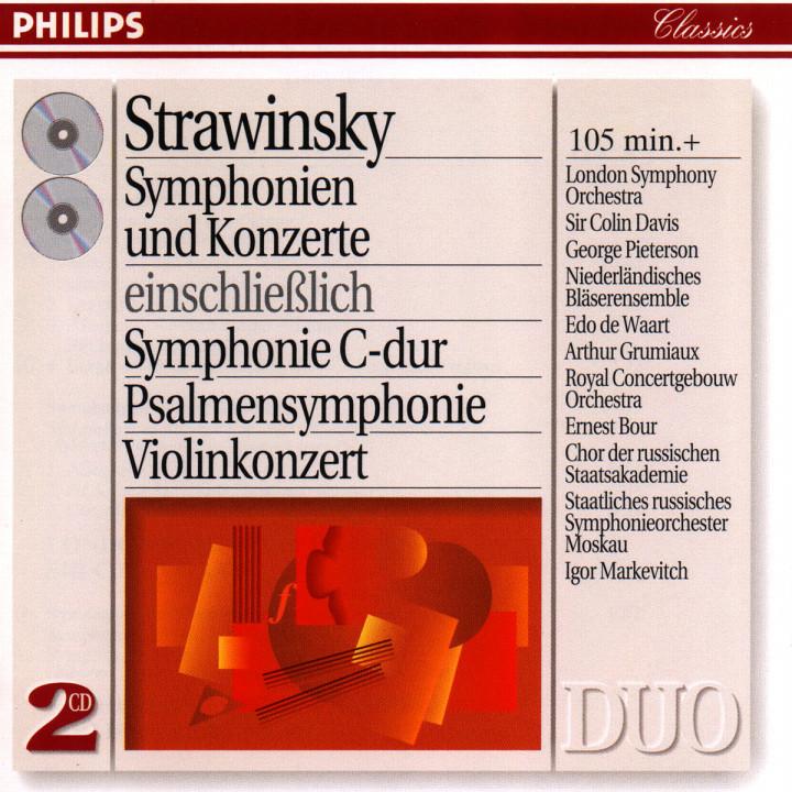 Sinfonien und Konzerte 0028944258323