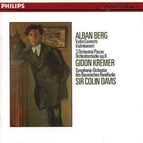 Alban Berg, Violinkonzert; Orchesterstücke, 00028941252326