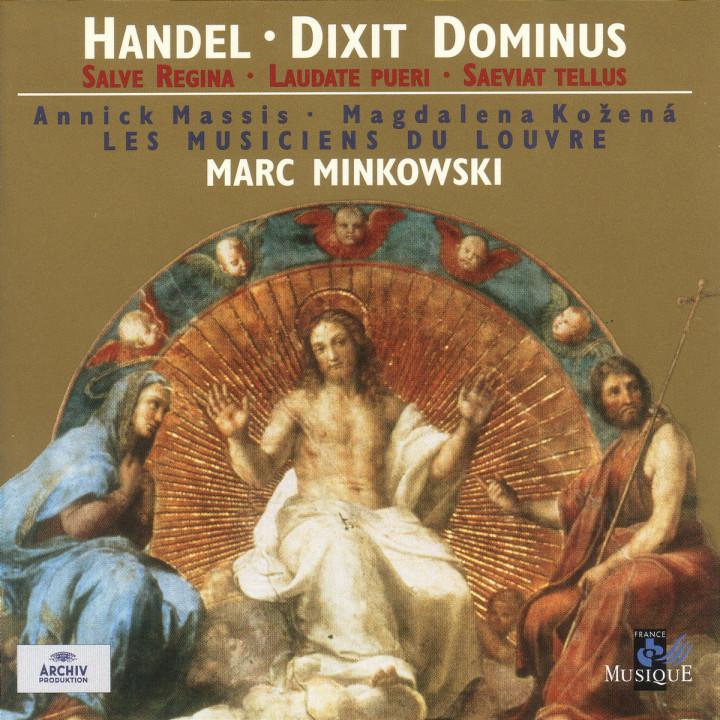 Handel: Dixit Dominus; Salve Regina; Laudate Pueri; Saeviat Tellus 0028945962722
