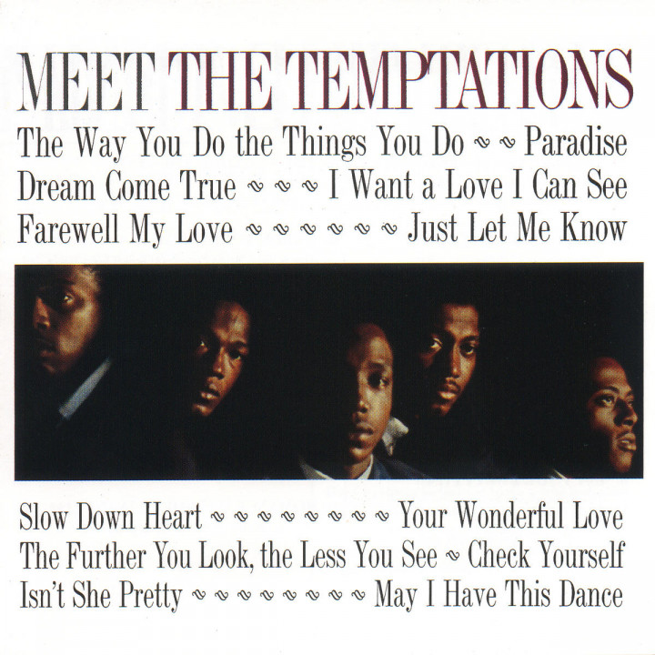 Meet The Temptations 0731454951322