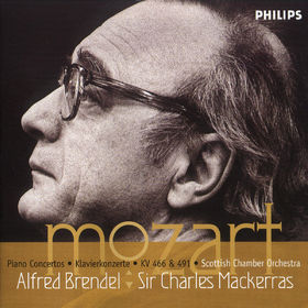 Wolfgang Amadeus Mozart, Mozart: Piano Concertos Nos.20 & 24, 00028946262221